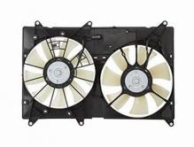 Диффузор радиатора в сборе Toyota Highlander U20 (2000-2007) / Lexus RX300 (2000-2003)