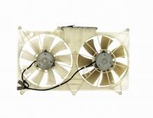 Диффузор радиатора в сборе Lexus GS300 (1998-2004) / Toyota Aristo (1998-2004) / Majesta (1997-2005) с вентиляторами и расширительным бачком