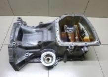 БУ Поддон двигателя силуминовый /верхняя часть Hyundai/KIA