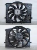 Вентилятор радиатора\диффузор в сборе\с блоком Mercedes W220 \ C215 \ R230