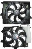 Диффузор радиатора в сборе HYUNDAI Accent \ Solaris \ KIA RIO (2010-2017)