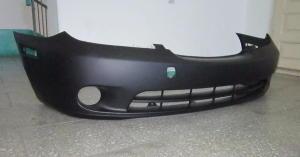 Бампер передний Lexus ES300\ES330 (2002-2006) под круглые туманки, рейстайлинг