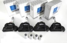 Комплект датчиков контроля давления воздуха в шинах / 4штуки Mercedes-Benz W222 (2013-нв) / W212 E-Сlass (2009-2016) / A180/200/250 W176 (2012-нв) / C207 E-Coupe (2009-нв) / GL-Class X166 GL/GLS (2012-нв) / W205 (2014-нв)