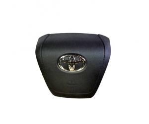 Крышка Airbag руля/накладка подушки безопасности водителя Toyota Land Cruiser 200 рестайлинг II (2015-нв)