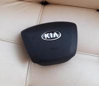 Крышка Airbag руля/накладка подушки безопасности водителя Kia Rio (2011-2015)