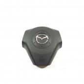Крышка Airbag руля/накладка подушки безопасности водителя Mazda 3 (2002-2009)