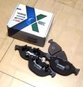 Тормозные колодки передние BMW X6 3.0d\3.5d\5.0i (E71, E72) \ X5 4.8i (E70)