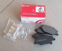 Тормозные колодки передние Volkswagen Polo (2010-нв) / Skoda Rapid (2012-нв) BREMBO