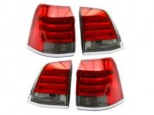 Комплект фонарей задних (тюнинг) TOYOTA LAND CRUISER 200 08-11 красные диодные полосы тюнинг комплект EAGLE EYES