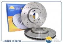 Комплект тормозные диски передние\перфорированные HYUNDAI Accent \ Solaris (2010-2017) / KIA RIO (2010-2017)