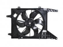 Диффузор радиатора в сборе Renault Logan (2008-нв) / Duster (2010-нв) / Sandero I (2009-2014) / Nissan Almera G15 (2012-нв) / ВАЗ Lada Largus (2012-нв) / Dacia Logan, Sandero