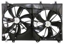 Диффузор радиатора, вентилятор в сборе TOYOTA HIGHLANDER (2007-2013) 2GR,1AR