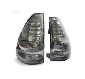 Комплект задних фонарей TOYOTA Land Cruiser Prado 120 (2003-2009) пепельные/светодиодные
