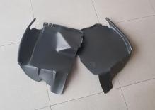 Комплект подкрылков /под бампер TOYOTA LAND CRUISER 100/105 / LEXUS LX470 (1998-2005) передние / защита противотуманок (закрывают полностью)
